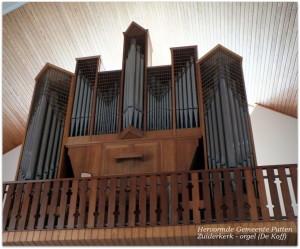 30 Hervormde Gemeente Putten - Zuiderkerk - orgel (De Koff)